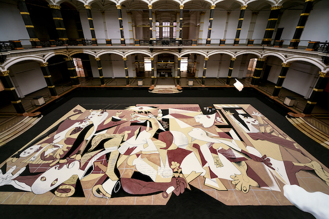 Lee Mingwei, Guernica in Sand, 2006/2020. ARA Artist in Residence 1 22 April 2020