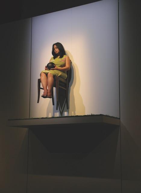 Melati Suryodarmo, The Black Ball, 2005. ARA Spring 2020 Feature Interview