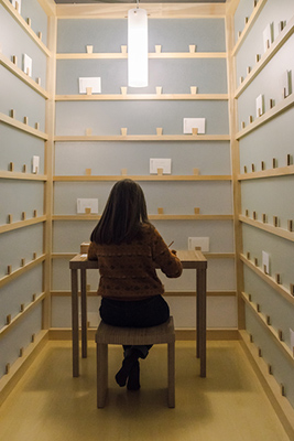 Lee Mingwei, The Letter Writing Project, 1998/2020. ARA Artist in Residence 1 22 April 2020