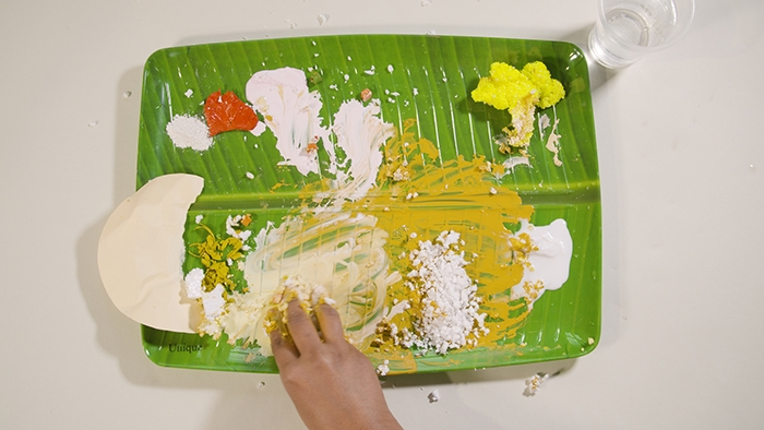 Vasundhara Sellamuthu, Name on Rice, 2019. ARA Spring 2020 Column