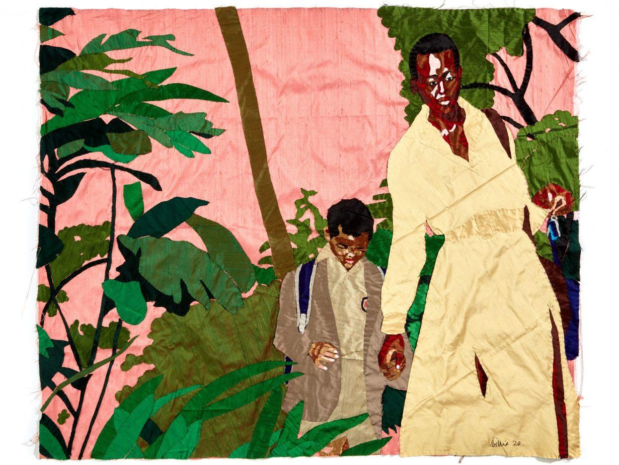 Billie Zangewa at Galerie Templon, Paris - ArtReview
