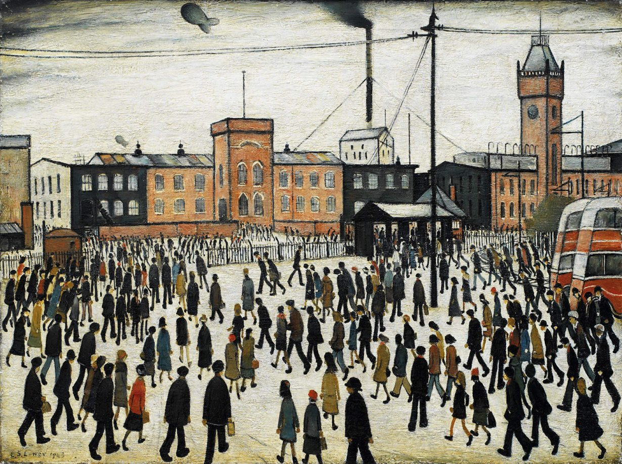 L.S. Lowry: 'I'm Fed Up With Painting' - ArtReview