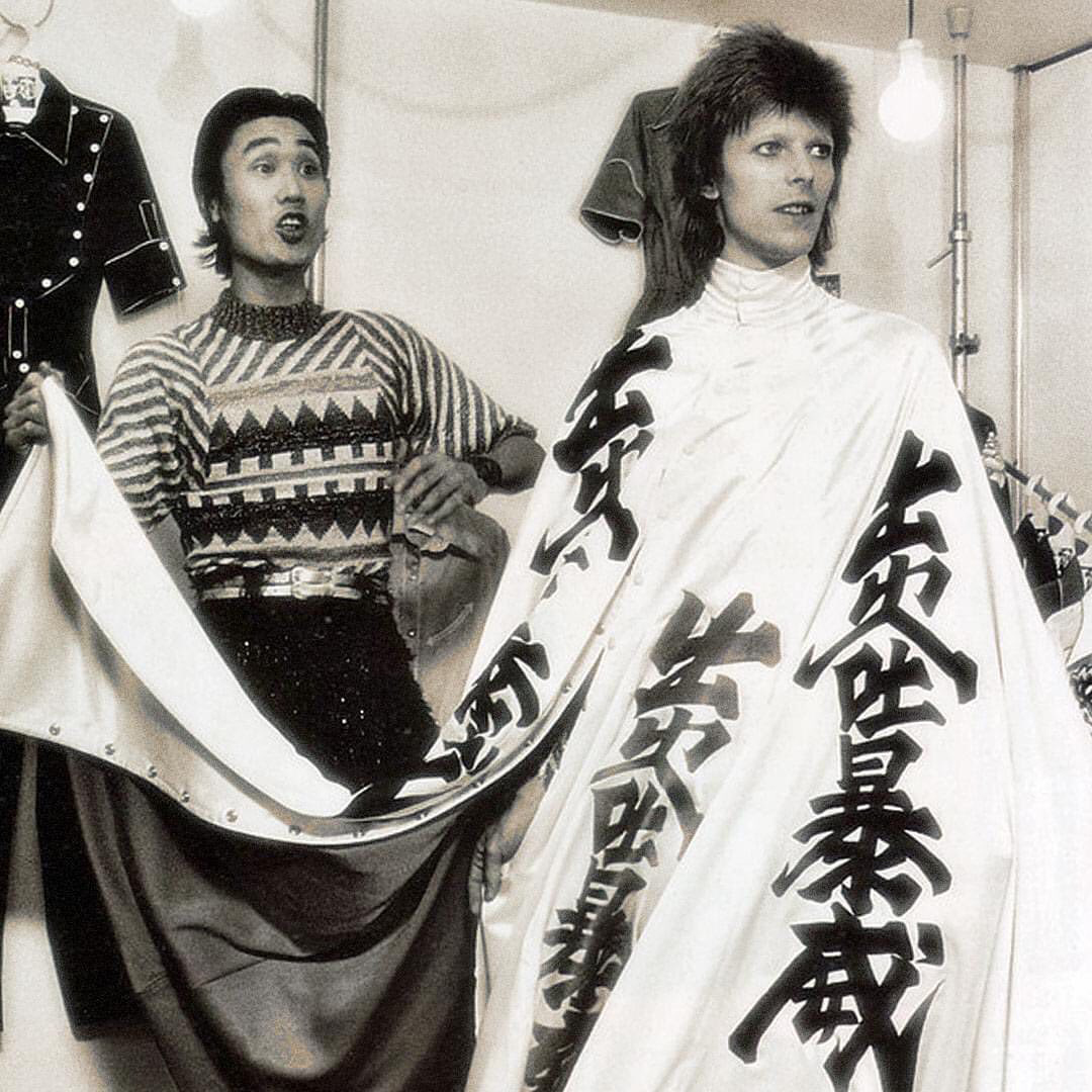 In Pictures David Bowie S Costume Designer Kansai Yamamoto 1944 2020 Artreview