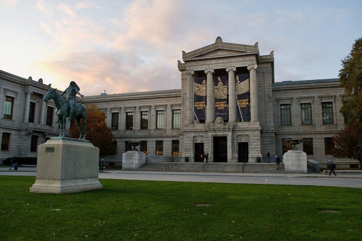 The Museum of Fine Arts in Boston, Massachusetts