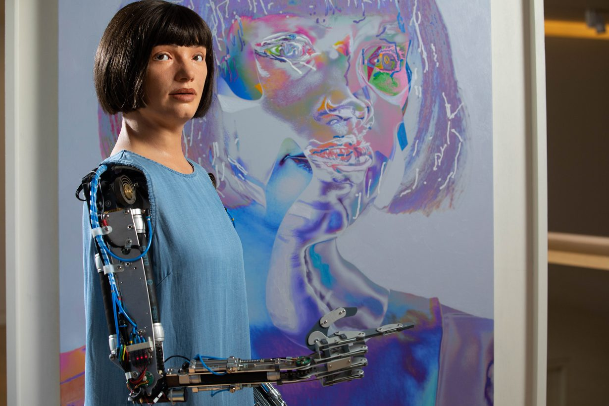 Why's Ai Da, the World's First Robot Artist, Kind of Hot   ArtReview